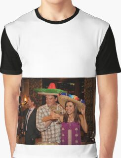 marshall, lily and barney (best night ever)  Graphic T-Shirt