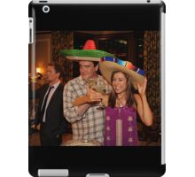 marshall, lily and barney (best night ever)  iPad Case/Skin