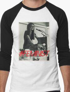 Queen of the Feminists Men's Baseball ¾ T-Shirt