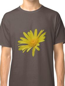 Yellow Daisy Flower Isolated Classic T-Shirt