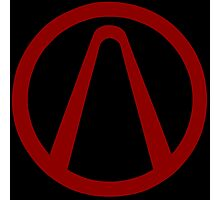 Cult of the Vault Borderlands Symbol Photographic Print