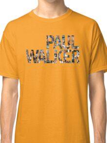 Paul Walker 2 Classic T-Shirt