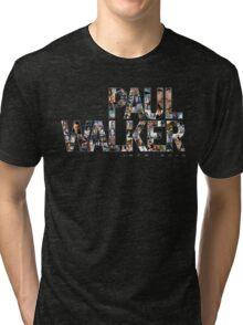 Paul Walker 2 Tri-blend T-Shirt