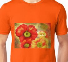 Morpheus's Abstract Red Poppies Unisex T-Shirt