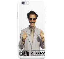 """Borat """"Great Success"""" iPhone Case/Skin"""