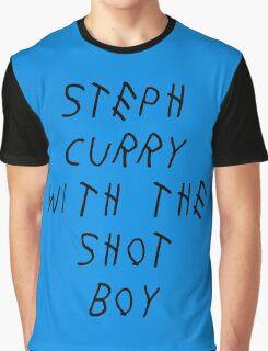 Curry Drake Shot (Black) Graphic T-Shirt