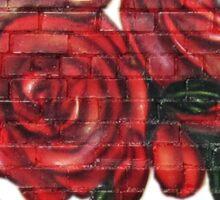 Graffiti Tees-4- ROSES! Sticker
