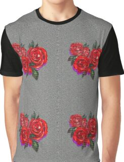 Graffiti Tees-4- ROSES! Graphic T-Shirt