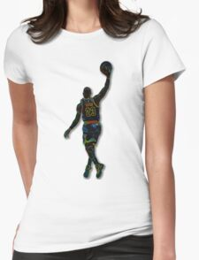 Electric LeBron Womens Fitted T-Shirt