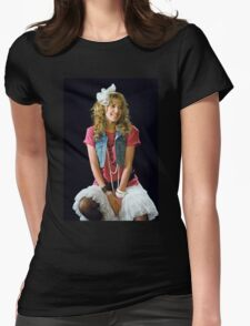robin sparkles Womens Fitted T-Shirt