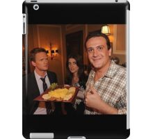 marshall, robin and barney (best night ever)  iPad Case/Skin