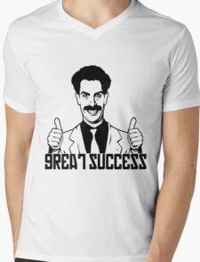 Borat Mens V-Neck T-Shirt