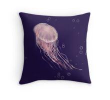 Jellies (pink) Throw Pillow