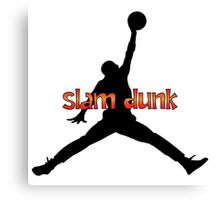 I Love Slam Dunk Canvas Print
