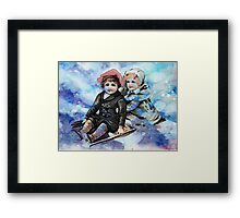 WINTER JOY 2 Framed Print