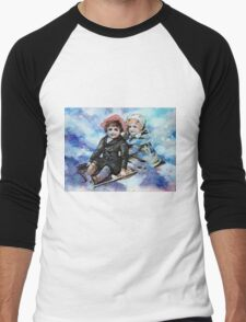 WINTER JOY 2 Men's Baseball ¾ T-Shirt