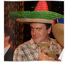 marshall eriksen with sombrero on Poster