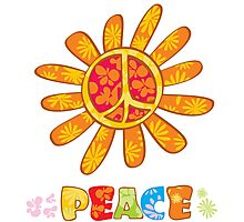peace to all! Photographic Print
