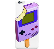 Raspberry Cherry Gameboy iPhone Case/Skin
