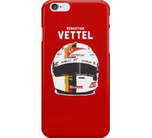 Sebastian Vettel - Ferrari iPhone Case/Skin