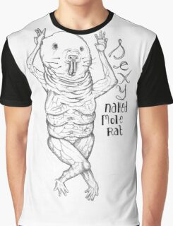 Sexy Naked Mole Rat Graphic T-Shirt
