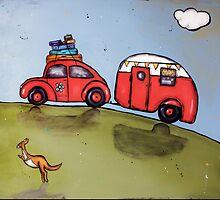 Beetle van by Jenny Wood