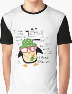 penguin-traveler!) Graphic T-Shirt