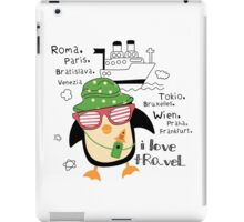penguin-traveler!) iPad Case/Skin