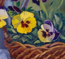 Pansies Sticker