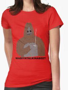 sassy big lez show Womens Fitted T-Shirt