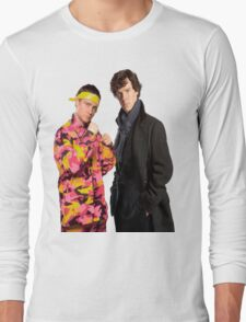 Sherlock Holmes Ali G Long Sleeve T-Shirt