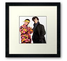 Sherlock Holmes|Ali G Framed Print