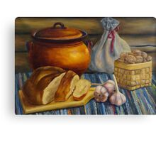 Country Still Life Canvas Print