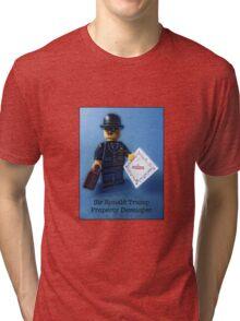 Sir Ronald Trump- Property Developer Tri-blend T-Shirt