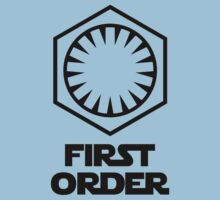 Star Wars - The First Order Symbol Kids Tee