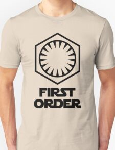 Star Wars - The First Order Symbol Unisex T-Shirt