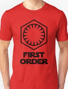 Star Wars - The First Order Symbol T-Shirt