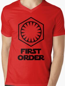 Star Wars - The First Order Symbol Mens V-Neck T-Shirt