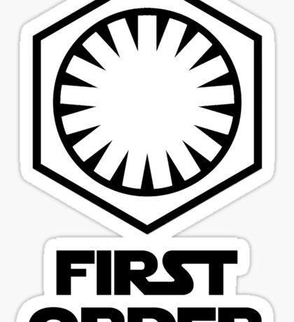 Star Wars - The First Order Symbol Sticker
