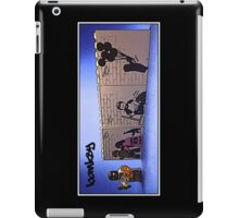 Banksy on the practice walls at home by Tim Constable iPad Case/Skin