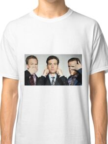 barney, ted and marshall Classic T-Shirt