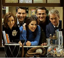 cast of himym by michaelcera