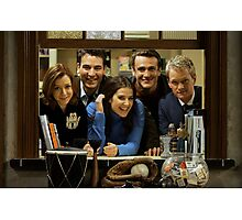 cast of himym Photographic Print
