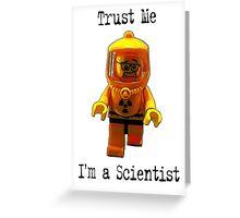 Trust me -I'm a Scientist! Greeting Card