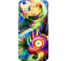Link and Skull Kid - Legend of Zelda iPhone Case/Skin