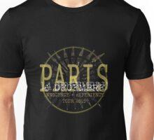 u2 paris 6 decembre Unisex T-Shirt