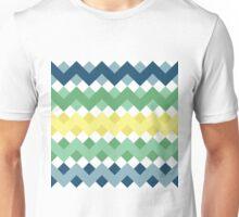 Zigzag Waves Seamless Pattern Unisex T-Shirt