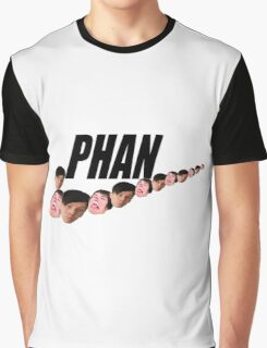 Phan ( Dan and Phil ) Nike Meme Graphic T-Shirt