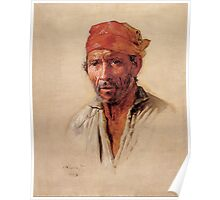 Portrait from Sao Paulo, 1880s Poster