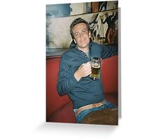 marshall eriksen drinking beer Greeting Card